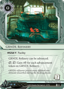 GRNDL-Refinery-Fear-and-Loathing-Netrunner-Spoiler