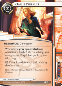 Tallie-Perrault-Fear-and-Loathing-Netrunner-Spoiler