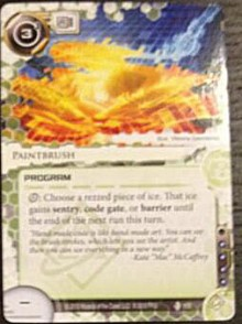 Paintbrush-Double-Time-Android-Netrunner-Spoiler-220x294